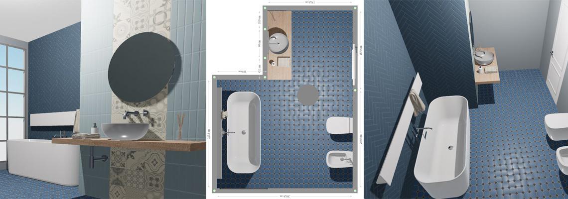 CESI 3D | Tile Planner progetta on line i tuoi ambienti